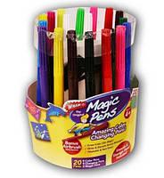 Волшебные фломастеры Magic Pens меняющие цвет