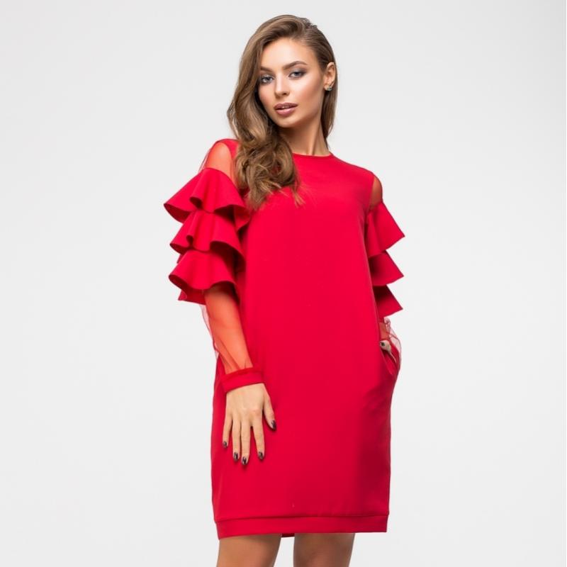 01daaeee323 Женское стильное платье 5967