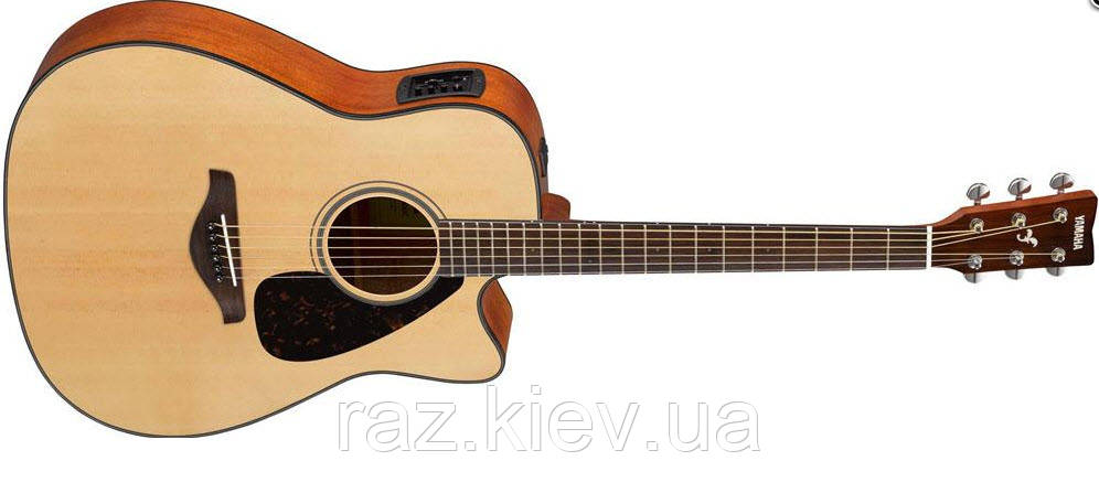 Электроакустическая гитара YAMAHA FGX800C (NT)