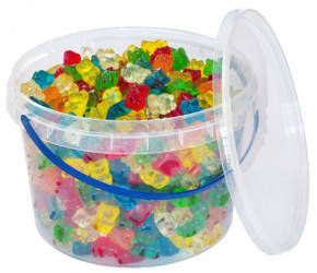 Жевательный мармелад Funny Bears/ Веселі ведмедики 0,45, 1, 1,8 кг. ТМ Jelly Juice