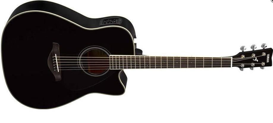 Электроакустическая гитара YAMAHA FGX820C (BL), фото 2