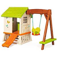 Игровой дом Сладкие мечты с горкой и качелями  Smoby (810601)
