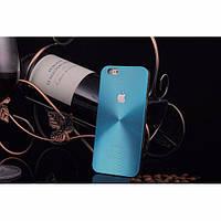 Металлический чехол для iPhone 6 plus / 6S plus, бирюзового цвета