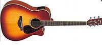 Электроакустическая гитара YAMAHA FGX720 SCA (BS)