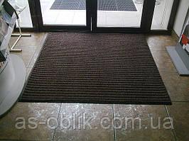 Брудозахисні чистячі вхідні килими «Лан» (коричневий)