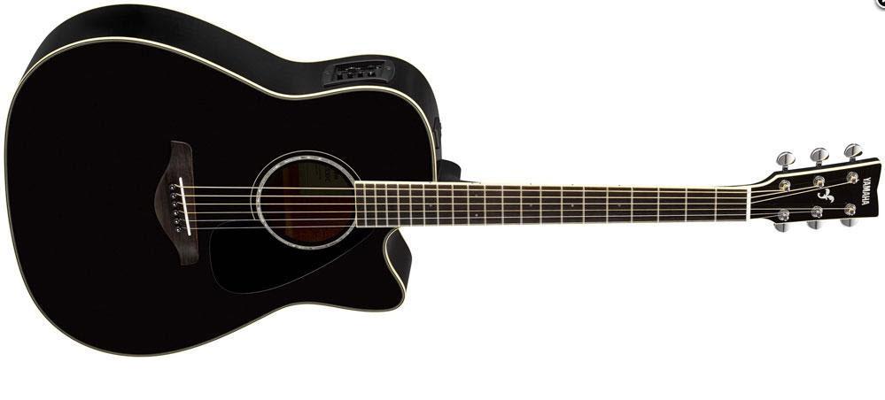 Электроакустическая гитара YAMAHA FGX830C (BL)