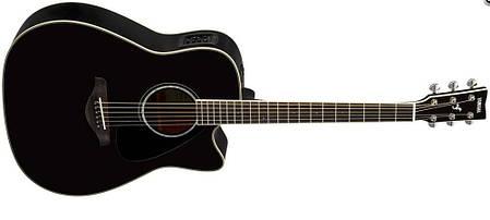 Электроакустическая гитара YAMAHA FGX830C (BL), фото 2