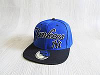 Бейсболка Реперка New York Yankees реплика унисекс ультрамодная , фото 1