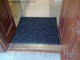 Брудозахисні килимки «Лан» (чорний)