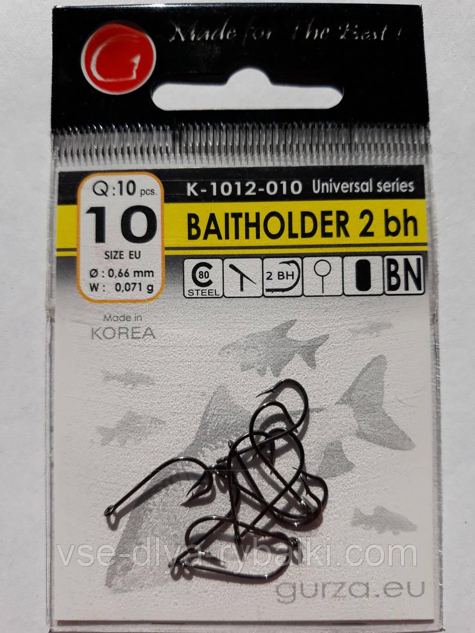 Крючки Gurza baitholder № 10