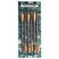 Набор стрел для арбалета 6 штук ,  9мм   длина 36 см