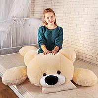 Плюшевый медведь Умка лежачий 120 см