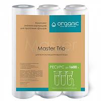 Комплект картриджей ORGANIC для жесткой водопроводной воды