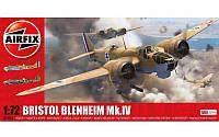 1:72 Сборная модель самолета Bristol Blenheim Mk.IV, Airfix 04061