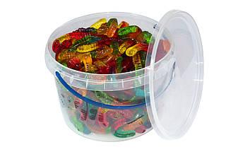 Жевательный мармелад Fruit Worms/ Фруктові черв`ячки 0,45, 1, 1,8 кг. ТМ Jelly Juice