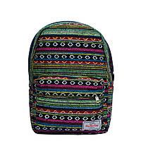 Рюкзак с ярким принтом 9 Рисунков ( Вышивка Зеленый), фото 1