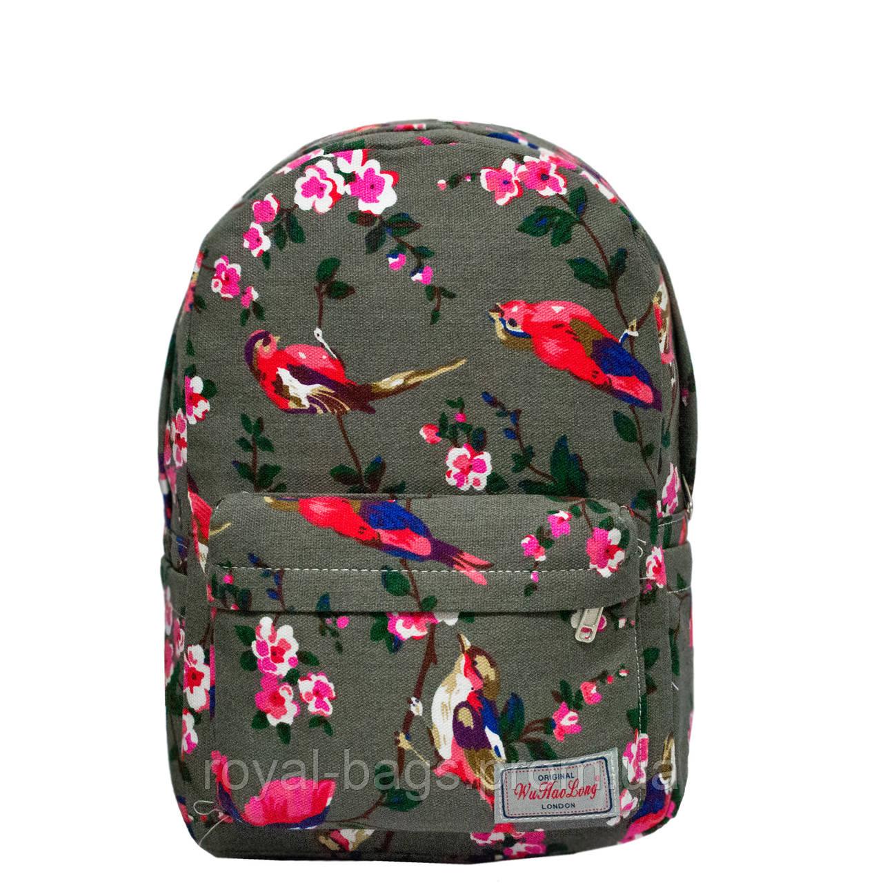 Рюкзак с ярким принтом 9 Рисунков ( Птицы)