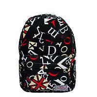 Рюкзак с ярким принтом 9 Рисунков ( Черный)