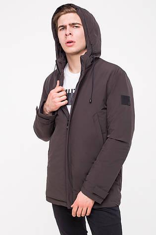 Удобная и практичная мужская демисезонная куртка MALIDINU MC-18301 - цвета темный хаки, фото 2