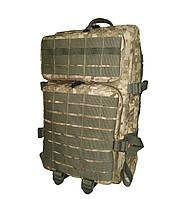 Тактический, штурмовой супер-крепкий рюкзак 38 литров пиксель. Армия,туризм,рыбалка,спорт,отдых.