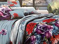 Двуспальный набор постельного белья  № 163