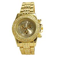 Часы наручные женские на  браслете, со стразами