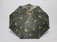Женский зонт полуавтомат цветочный принт, фото 1