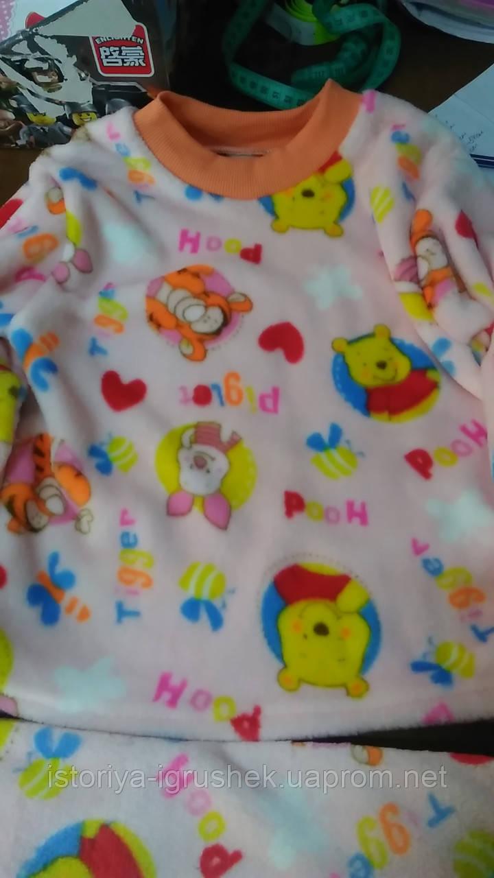 Теплая пижама для девочки Винни пух