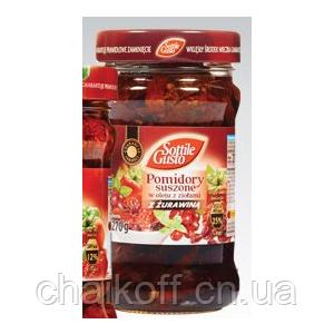 Вяленые помидоры Sottile Gusto с клюквой 270 г