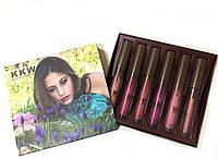 Помада Kylie KKW Creme Liquid Lipstick №1 (реплика)