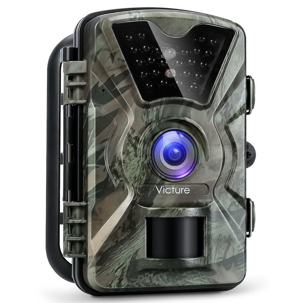 Камера ночного видения для охоты 1080P 12MP Victure фотоловушка водонепроницаемая