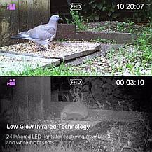 Камера ночного видения для охоты 1080P 12MP Victure фотоловушка водонепроницаемая, фото 3