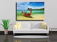"""Фотокартина на холсте """"Тропический пляж Тайланд"""""""