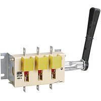 Выключатель-разъединитель ВР32И-37В31250 400А съем.рук. IEK