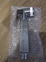Стоп лейка для биде гигиенического душа, металлическая гайка латунь, с плавной клавишей, Испания Барселона, фото 1