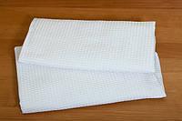 Вафельное белое полотенце 45*75, фото 1