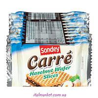 Вафельки с орехом Carre Hzelnut Wafer slices 250г (12 шт)