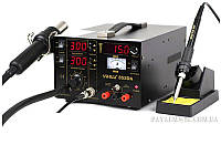 Термоповітряна паяльна станція 3/1 YIHUA 853DA, фото 1