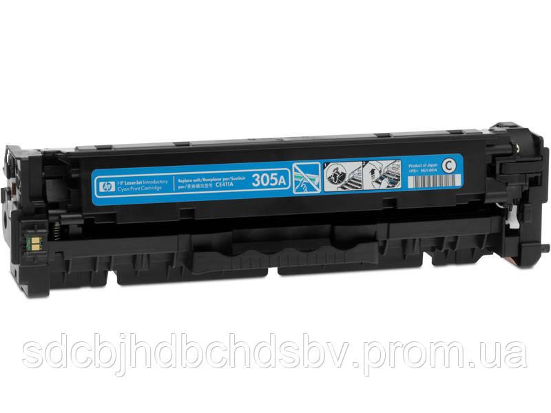 Картридж HP CE411A №305А (CYAN) для принтера HP CLJ Pro Color M351, M451, M375