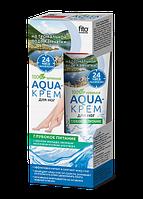 Aqua-крем для ног на термальной воде Камчатки Глубокое питание с маслом авокадо, овсяным молочком и соком алоэ