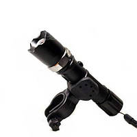 Тактический фонарик с креплением для велосипеда BL T 8628 XPE 30000W