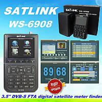 SatLink WS-6908 прибор для настройки спутниковых антенн