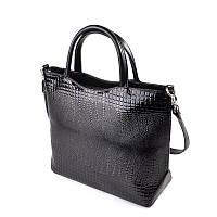 Женская сумка из кожзаменителя с тиснением «питон» М75-14/Z