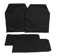 Противоосколочные пакеты из кевлара в плитоноски (грудь+спина)
