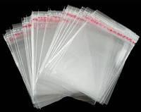Пакет прозрачный Прозрачный, 17 см х 29 см