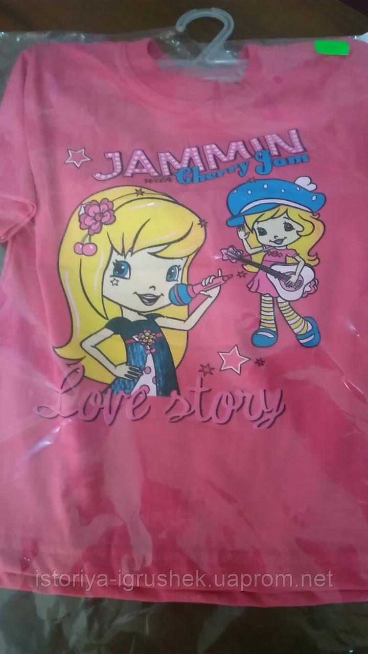 Легкая футболка для девочки