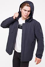 Мужская куртка демисезонная CLASNA (батал) CW18MC011B, фото 2