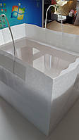 Крафт пакет для коробки на 12 капкейков