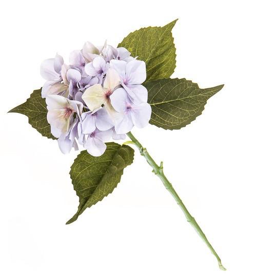 Светло-фиолетовая гортензия 53см