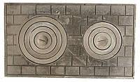 Плита чугунная двухкомфорочная (Кирпич)